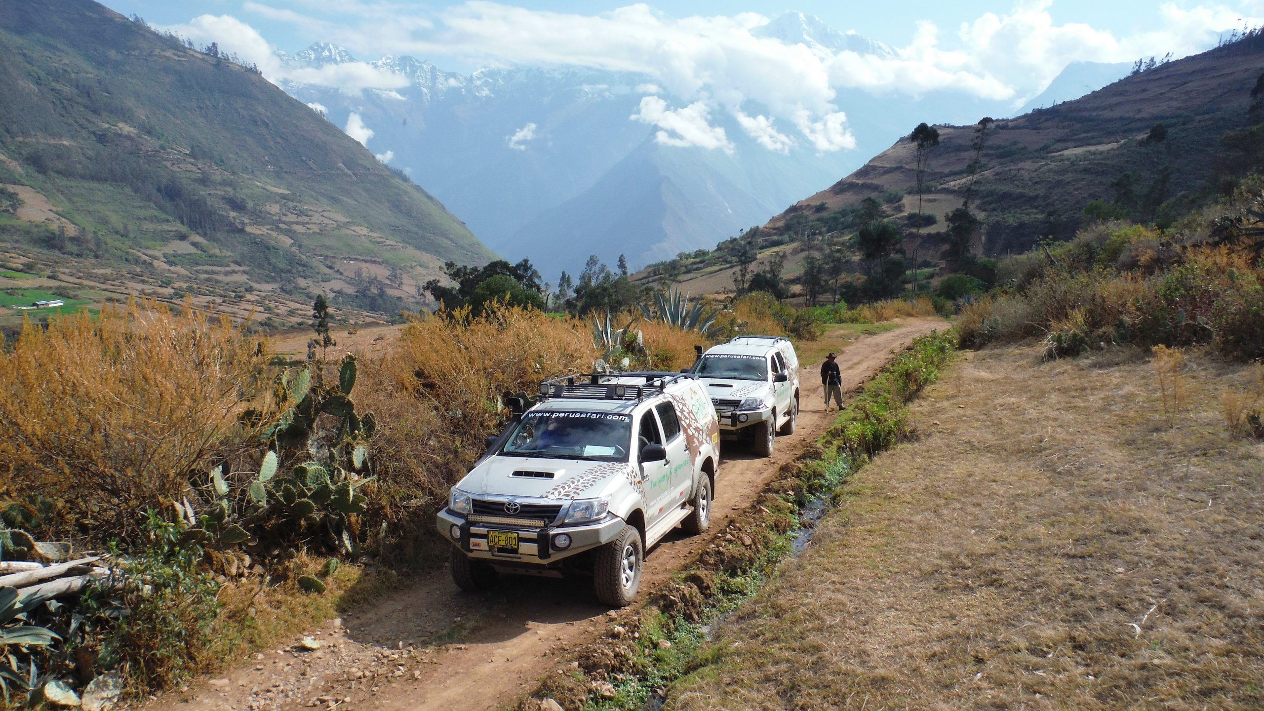 Self drive in the Andes