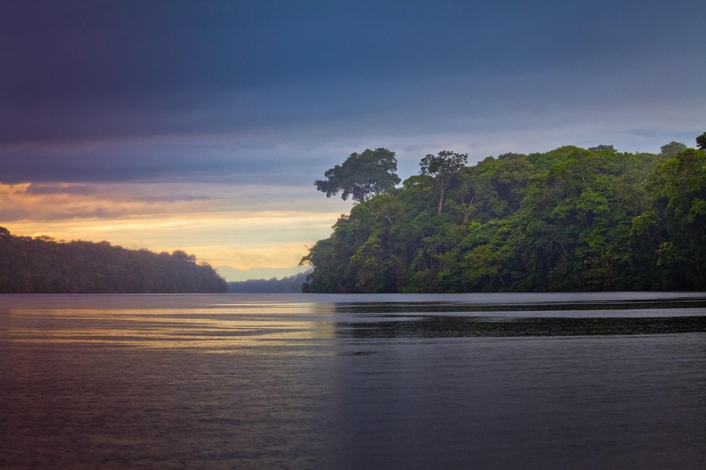 Landscape in Tortuguero National Park, Costa Rica
